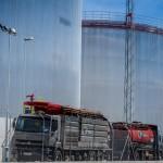 Alta Presion limpieza tanques con camiones